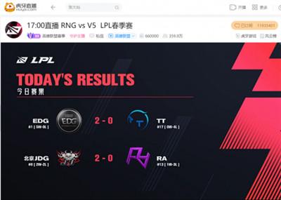 虎牙直播LPL:休赛期引援典范,Viper六次MVP助EDG豪取五连胜