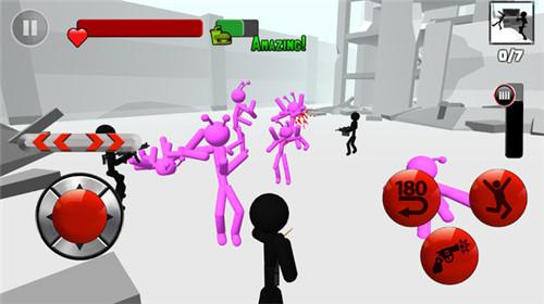 火柴人3D射击app企业开发