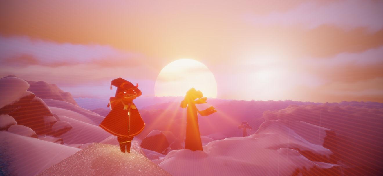 光遇雪隐峰先祖位置及光之翼收集攻略