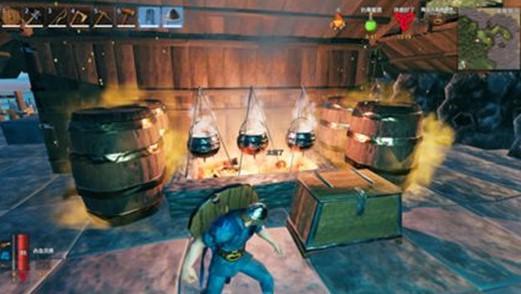 英灵神殿发酵桶如何使用