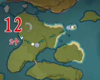 原神141个石珀全采集路线2021
