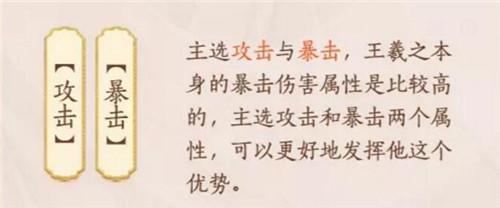 忘川风华录王羲之强度详细分析