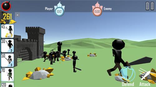 火柴人战争3D版