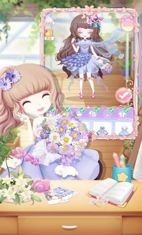 花花姑娘的花店游戏