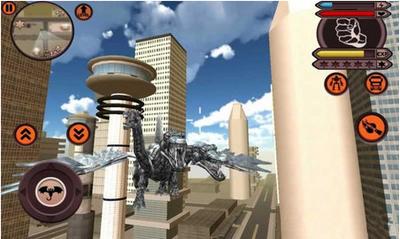 三头龙变形机器人