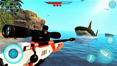 猎人鲨鱼狩猎