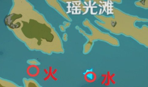 原神瑶光滩水下柱子位置及解法攻略