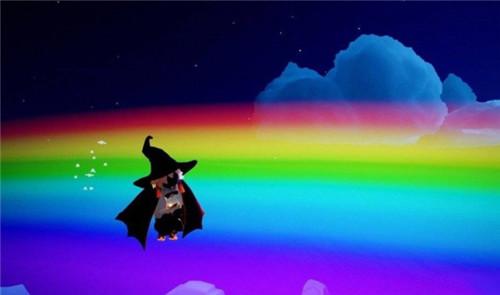 光遇站在彩虹上面方法分享