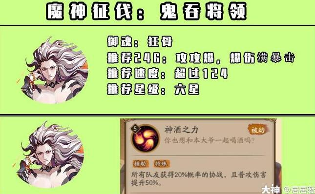 阴阳师魔神征伐高分阵容搭配推荐