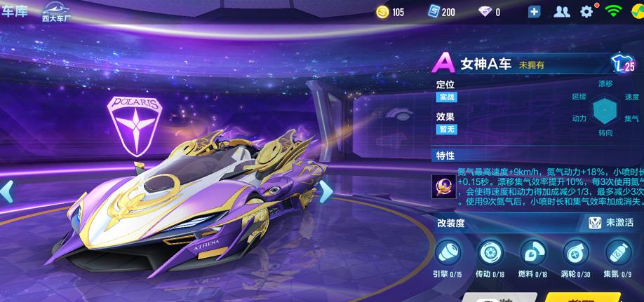 QQ飞车手游智慧女神特性及强度测评一览