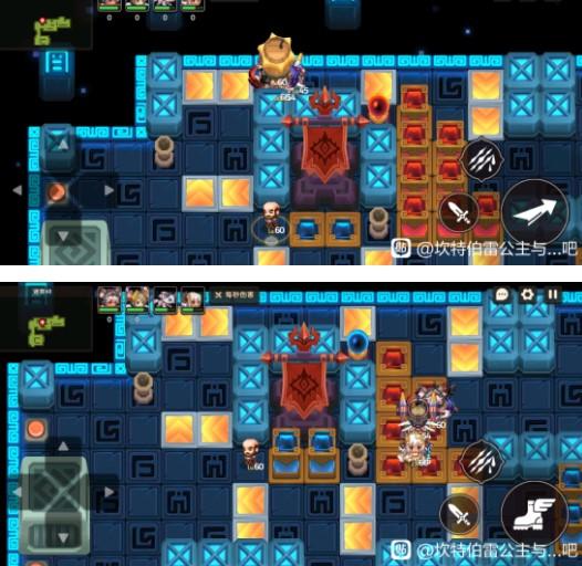 坎公骑冠剑迷宫48第二图超详细通关攻略