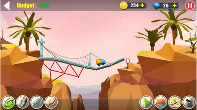 真实桥梁建设模拟