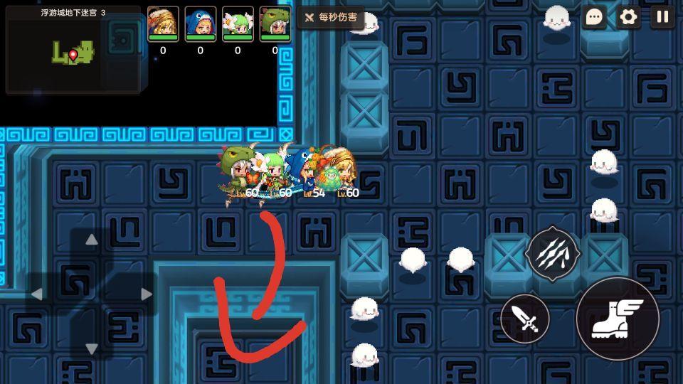 坎公骑冠剑地下迷宫3打法攻略分享
