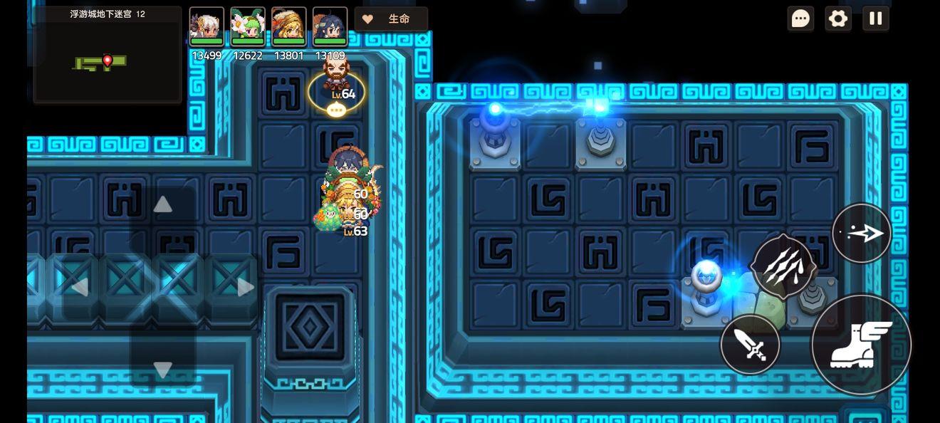 坎公骑冠剑地下迷宫12打法攻略分享