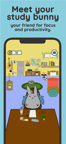 Study Bunny汉化版开发app制作公司