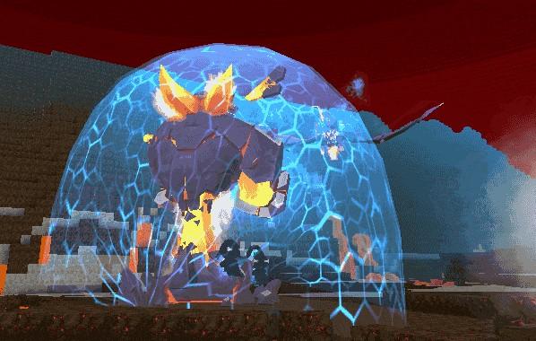 迷你世界火山boss虚空幻影打法攻略