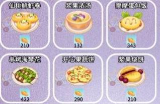 摩尔庄园手游开心果蔬饼菜谱配方及做法一览