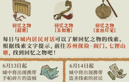 江南百景图盗圣线索收集攻略分享