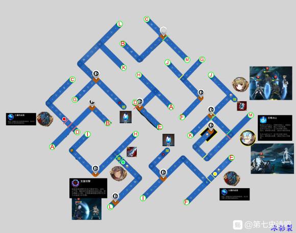 第七史诗迷宫3-3路线图分享