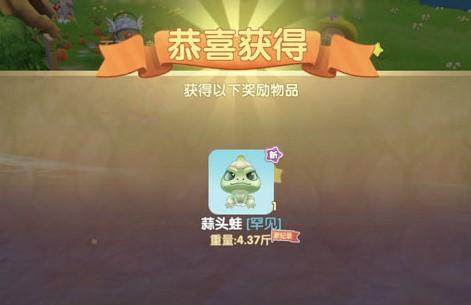 摩尔庄园手游蒜头蛙在什么位置钓