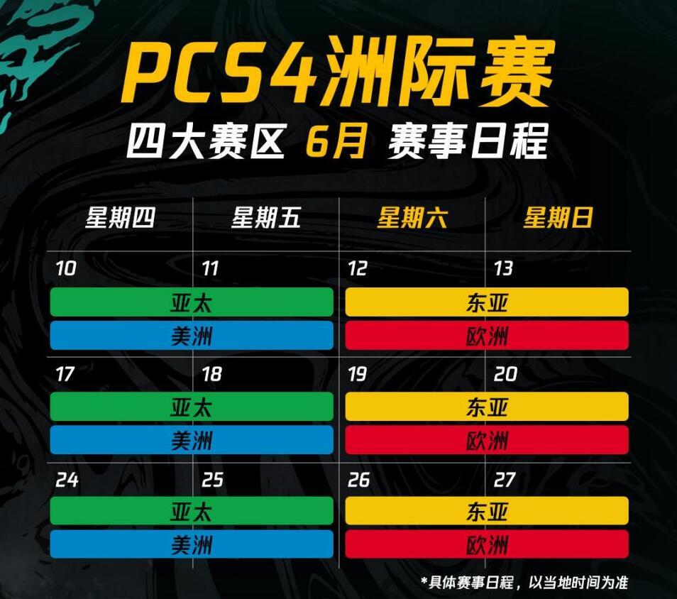 全球劲旅齐聚PCS4洲际赛:风云起,踏浪前,信者集结!