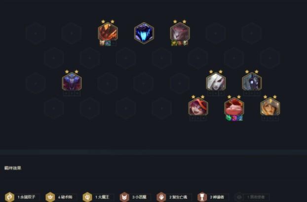 云顶之弈11.12版本上分阵容秘术小恶魔玩法介绍