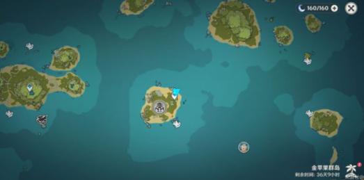 原神海中魔王任务全角色位置介绍