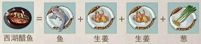 江湖悠悠西湖醋鱼食谱配方及做法分享
