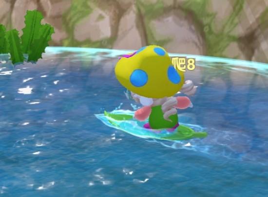 摩尔庄园手游冲浪板使用方法