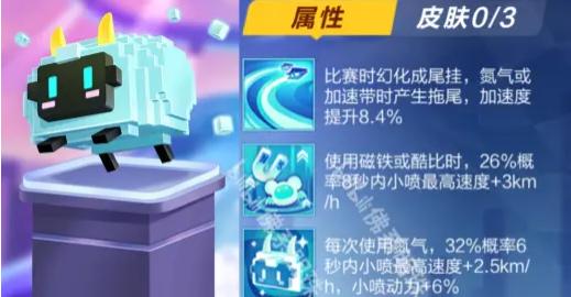 QQ飞车手游电子咩宠物属性分析测评