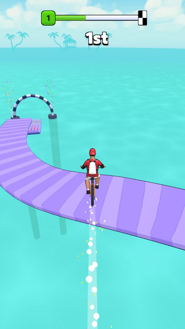 单车水上漂