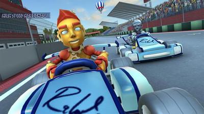 蒸汽朋克赛车比赛手机网站app制作