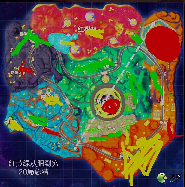 香肠派对超新星地图资源分布一览