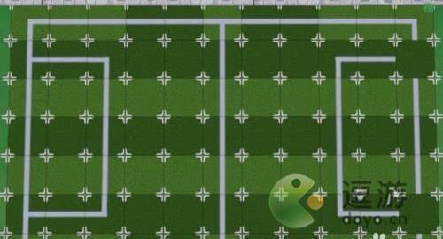摩尔庄园足球场怎么拼