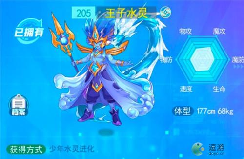 超级精灵手表王子水灵全面解析