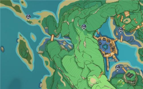 原神藏镜仕女位置分布一览