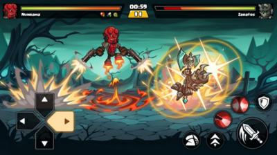 超级勇士格斗中文版