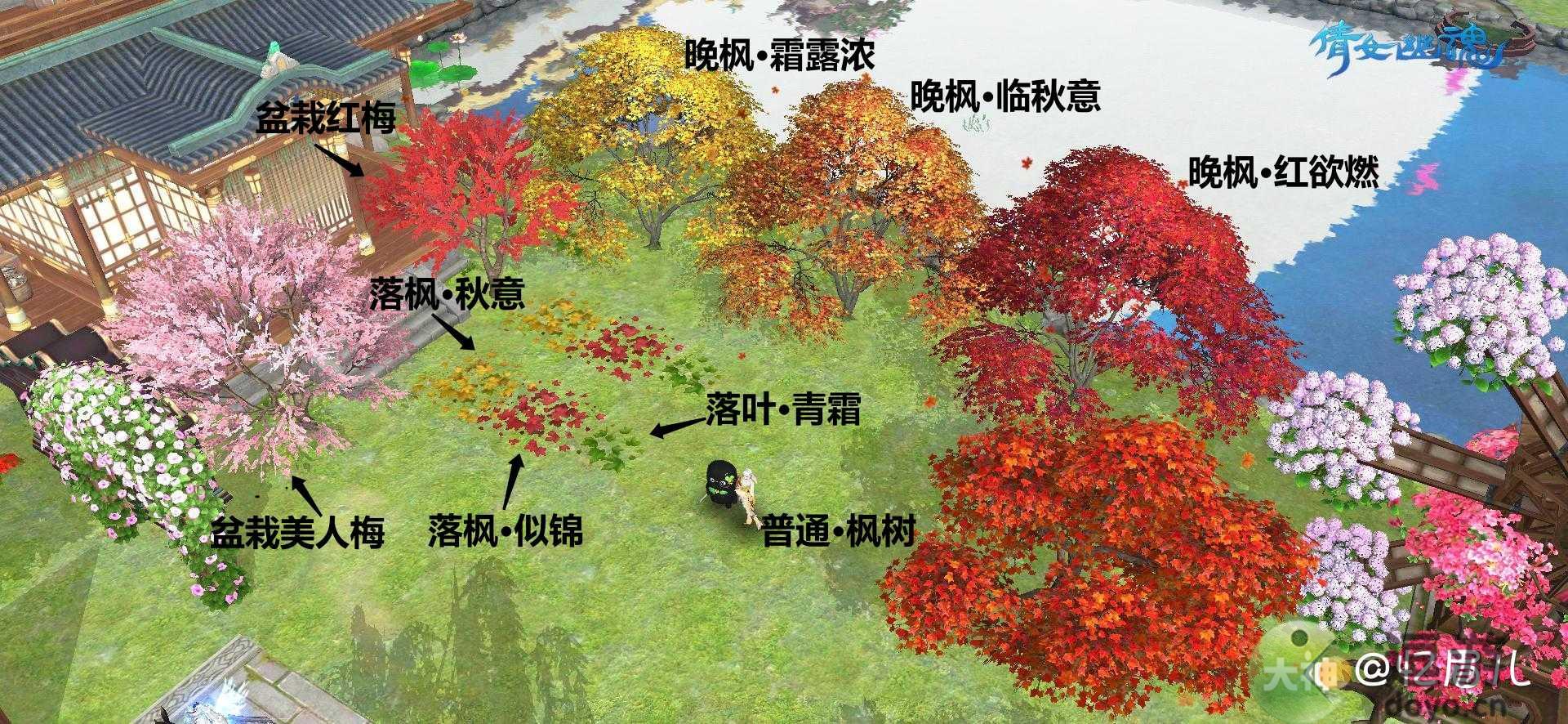 倩女幽魂手游新花木类图鉴获取方式一览