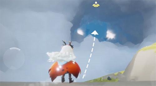光遇飞翔季第二个任务完成方法分享
