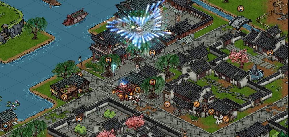 烟雨江湖二周年宝箱位置分享