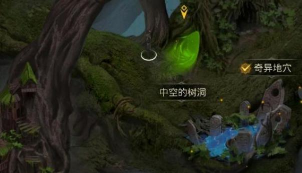 地下城堡3中空的树洞探索攻略