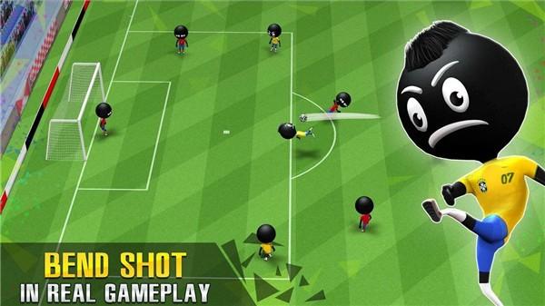 火柴人足球比赛截图