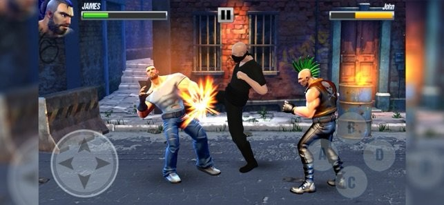 Street Warriors Fighting Game截图