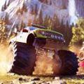 怪物卡车粉碎与撞击