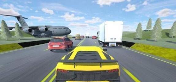 快速汽車駕駛模擬器截圖