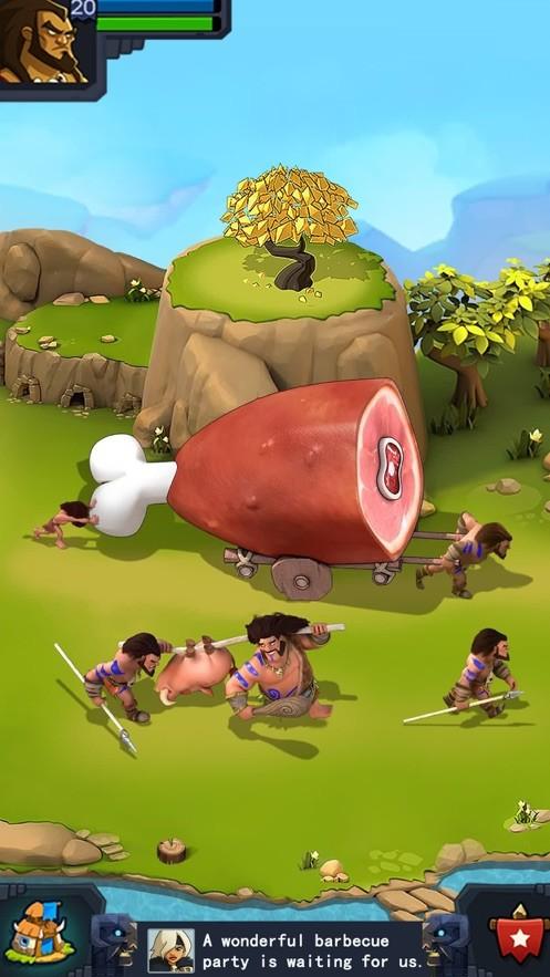 狩猎部落截图