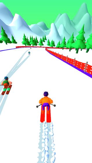 雪地骑士3D截图