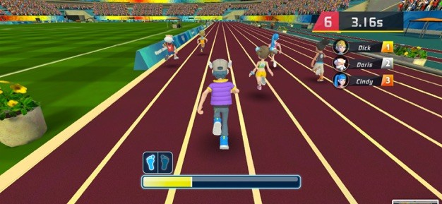 全民運動之100米賽跑截圖