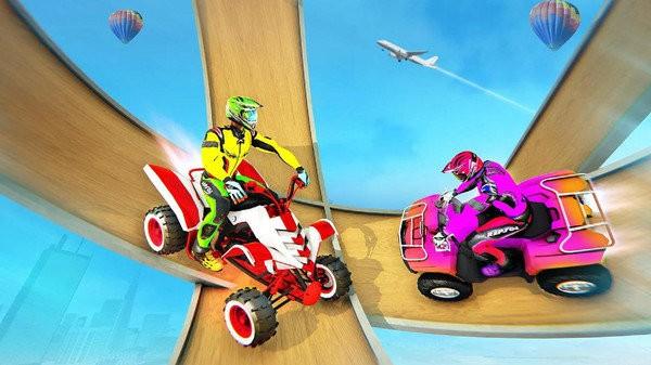 四轮摩托车特技驾驶截图