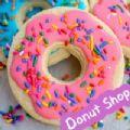 甜甜圈食品制作店